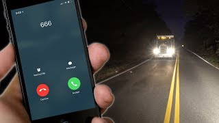 missed call from the devil while on clinton road... (chased by phantom trucks)