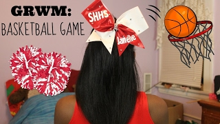 GRWM: Cheering at a Basketball Game🏀 | Janelle Ari