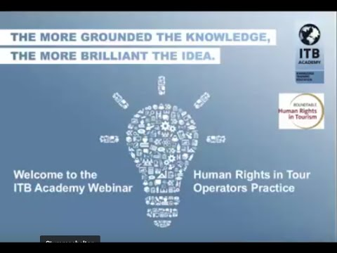 ITB Academy Webinar: Human Rights in Tour Operators Practice