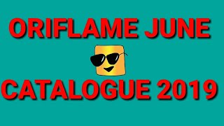 Oriflame June 2019 Catalogue