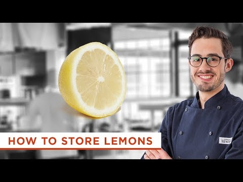 The Best Way to Store Your Lemons
