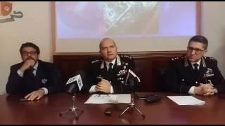 Il Comandante provinciale dei carabinieri Conforti spiega la dinamica della sparatoria