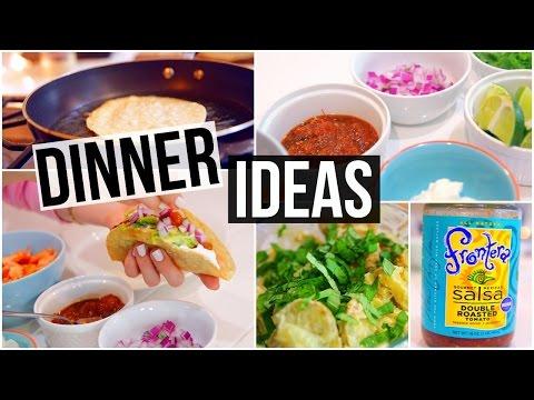 3 SIMPLE & HEALTHY DINNER IDEAS!