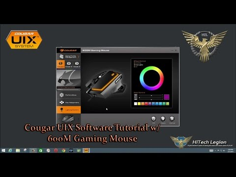Cougar UIX Software w/ 600M Gaming Mouse