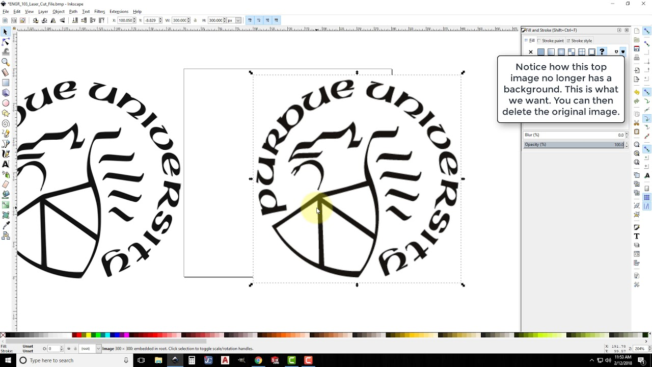 Creating a Laser Job from Inkscape