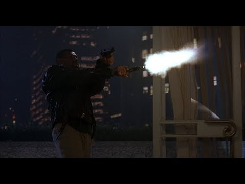 """Favorite scene from the action classic """"FLED"""". A Kevin Hooks film."""