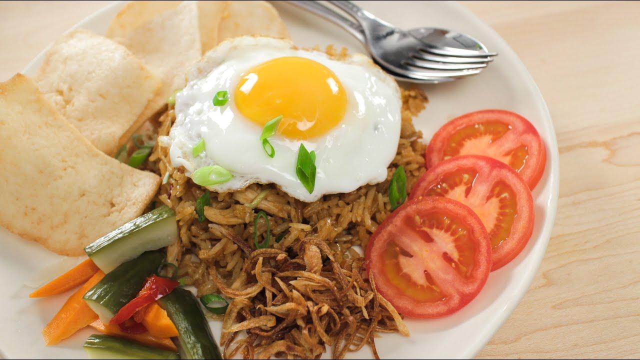 Nasi goreng recipe indonesian fried rice asian recipes youtube forumfinder Images