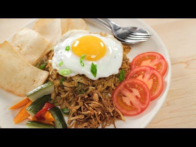 Nasi Goreng Recipe Indonesian Fried Rice Asian Recipes Youtube