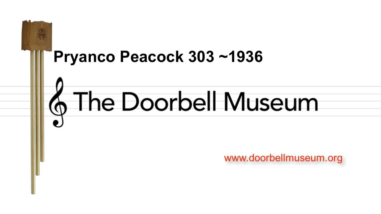 Westminster Doorbell Sound & Door Chime Vintage Clock