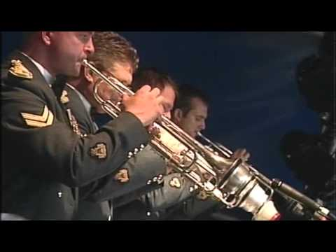 RAF Squadronaires - For Once in my Life - Live