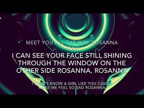 Rosanna- WEEZER (lyrics)