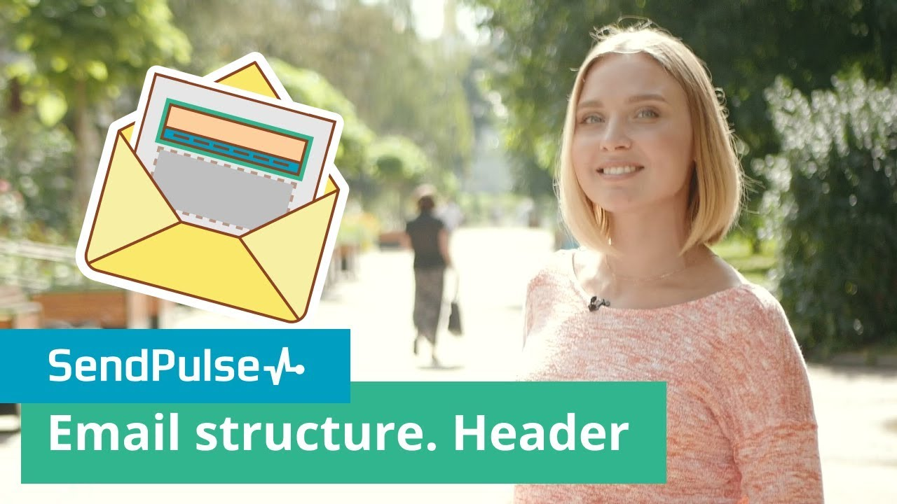 Email structure. Header