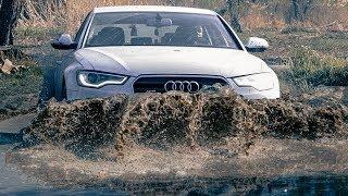 Я Потерял Свою Audi A6 На Бездорожье.