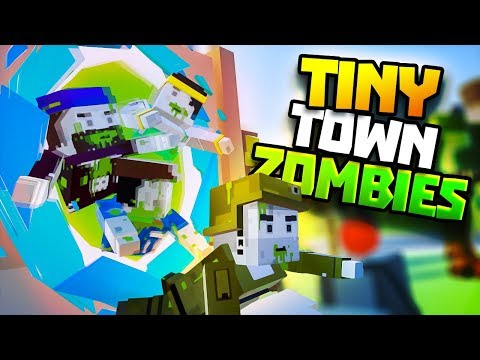 RICK AND MORTY'S ZOMBIE PORTAL! - Tiny Town VR Gameplay Part 64 - VR HTC Vive Gameplay