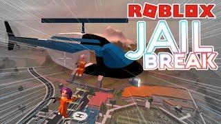 Roblox: Jail Break 🚔 / ¡Robamos el banco! / ¡Somos criminales! 🚓 / Escape Prisión!
