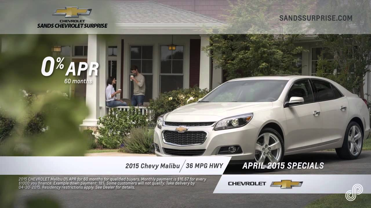 2015 chevy malibu offer sp sands chevrolet surprise 4 15 youtube. Cars Review. Best American Auto & Cars Review
