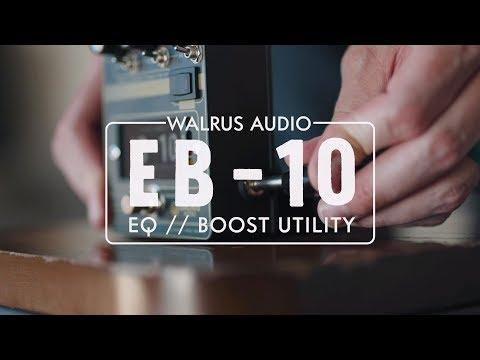 Walrus Audio's Defcon4 returns as the EB-10 preamp/EQ/boost | Guitarworld