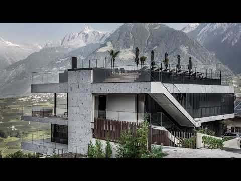 Luxury Industrial Apartment 7 In Merano, Italy, Designed By Stephan Marx And Nadine Bauer.