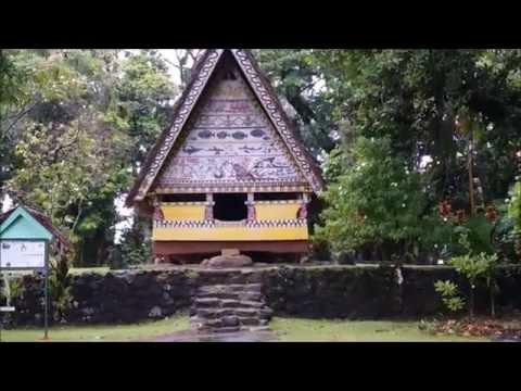 Casa tradicional palauense,Palaos (Traditional palauan house,Palau)
