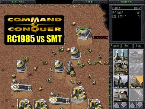Command And Conquer Multiplayer: RC1985 Vs SMT