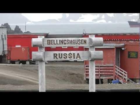 BELLINGSHAUSEN Base de Rusia en Antarctica