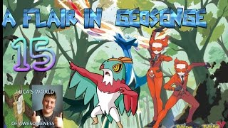 Luca's Pokemon X Let's Play Part 15| A FLAIR IN GEOSENGE!