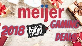 Meijer Black Friday 2018 Gaming Deals