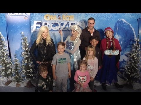 "Tori Spelling, Dean McDermott and Kids ""Disney On Ice Presents FROZEN"" Premiere"