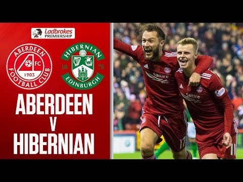 Aberdeen 1-0 Hibernian | Mackay-Steven helps Dons Leapfrog Hibs | Ladbrokes Premiership