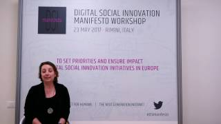 Social Innovators for the Next Generation Internet - Antonella Passani, T6 Ecosystems