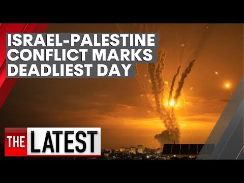 Israel-Palestinian conflict marks its deadliest day as scenes of horror unfold in Gaza | 7NEWS