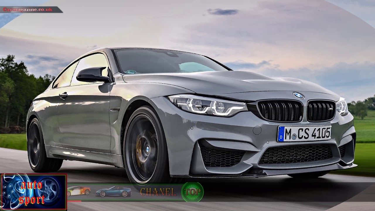 BMW M4 CS Top 10 fastest cars in the world 2017  YouTube