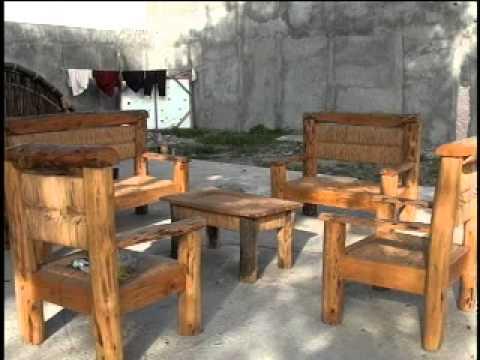 Artesanos de veracruz buscan cautivar con obras de bamb - Muebles de bambu y mimbre ...