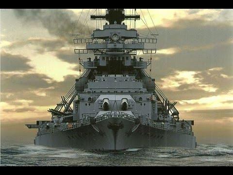 Cuirassé Bismarck au 1/200 - Trumpeter Hqdefault
