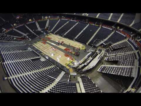 Philips Arena Transforms With 5 Events In 5 Days