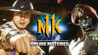 Kung Lao Is Low Damage?! - WEEK OF! Kung Lao - Mortal Kombat 11 Online Matches