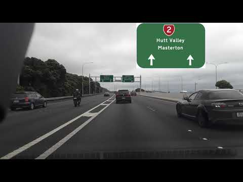 Wellington Airport to Naenae, Lower Hutt, Wellington Drive via SH1 and SH2