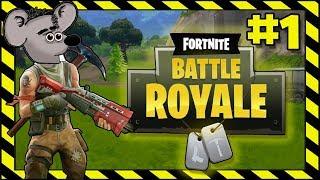 NOOB GETS TOP 5 - Fortnite Battle Royale | Part 1