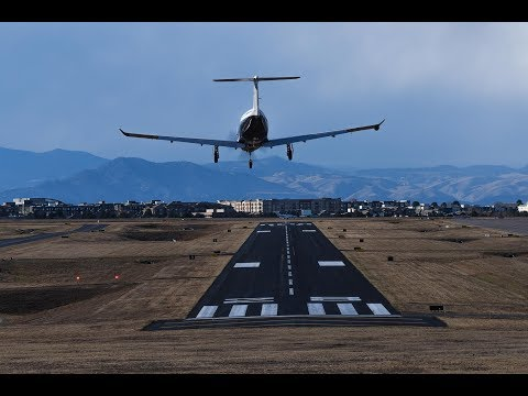 Plane Spotting at Centennial Airport(KAPA) 11/17/2017