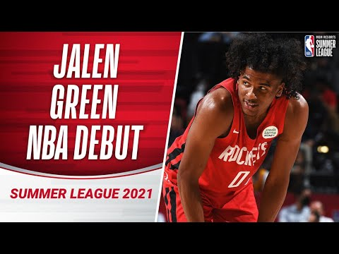 #2 Pick Jalen Green BALLS OUT in NBA Debut (23 PTS) 🚀