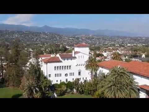 Viewed from Santa Barbara County Courthouse Tower
