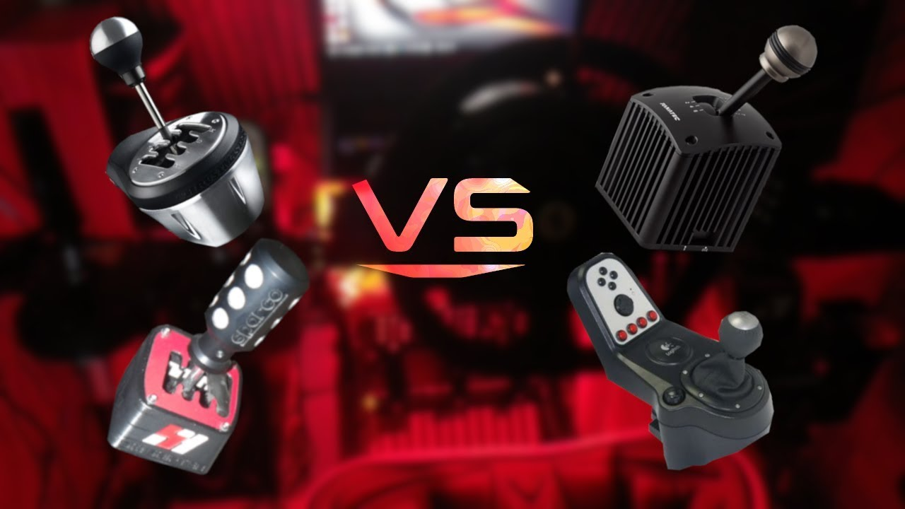 fb8767ecd57 Battle Of The Shifters!! Logitech G27 vs SHH Shifter vs Thrustmaster TH8A  vs Fanatec SQ V1.5