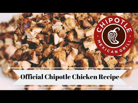 Chipotle's OFFICIAL Chicken Recipe! Chipotle Copycat Recipe/Homemade Chipotle Bowl/ DIY Chipotle!