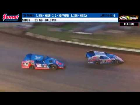 DIRTcar Summer Nationals Modifieds Terre Haute Action Track June 28, 2019 | HIGHLIGHTS