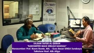 Talk show Radio - Barometer Iman Bangsa (Prof Roem Rowi)