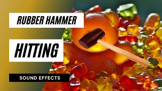 Rubber Hammer Hitting a Wood - Sound Effect