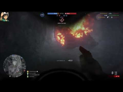 Battlefield 1 Monte Grappa, aggressive scout frommer stop 48-19 PS4 Pro