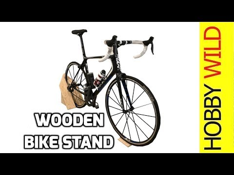 Wooden Bicycle Stand Build