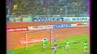 1985 March 20 Panathinaikos Greece 2 IFK Gothenburg Sweden 2 Champions Cup