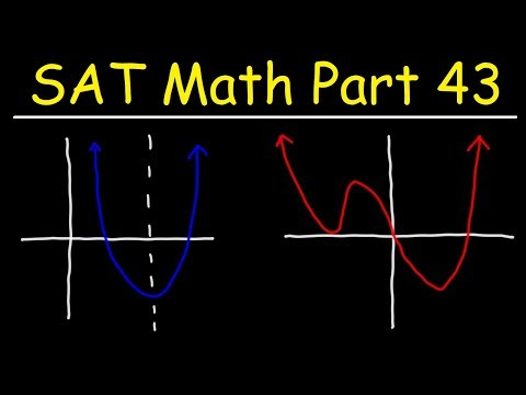SAT Math Part 43 - Circles, Graphs, Quadratic Equations, and Polynomial Functions thumbnail